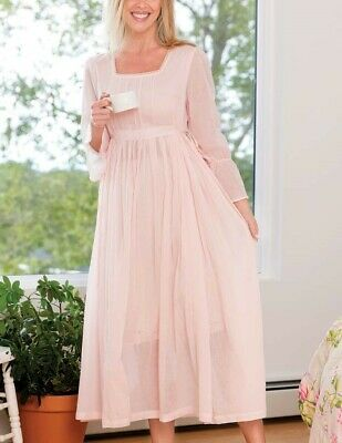Victorian Trading April Cornell Julietta Pink Night Gown XXL