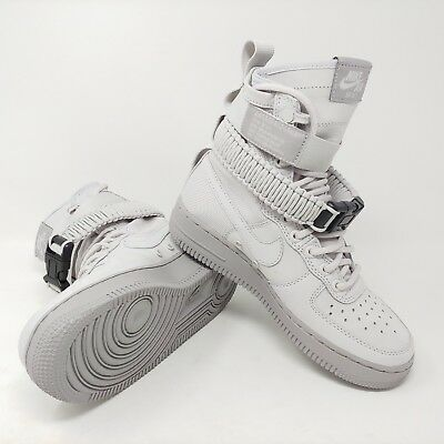 reputable site 6c947 7e5b4 Nike Donna Air Force 1 Sf Af1 Speciale Forza Sneaker Stivali 2018 Vasto  Grigio