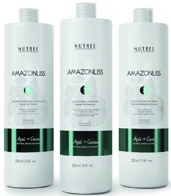 Amazonliss keratin treatment kit 8.45 oz by Nutree Professional