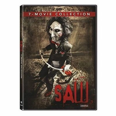 SAW 7-Movie Collection Horror DVD Set Original II III IV V VI Final UNRATED