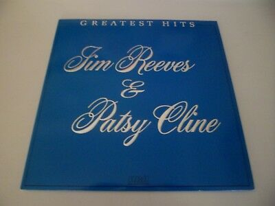 JIM REEVES & PATSY CLINE - GREATEST HITS - RCA AYL1-5152 - LP Record VG+ NICE !