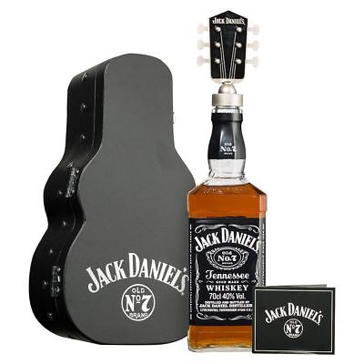 Jack Daniels Old No. 7 Guitar Case Limited Edition 700mL