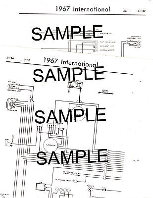 """1965 Ford Truck """"F"""" 100 150 250 350 1/2 3/4 1 Ton 2Wd 4Wd Wiring Chart Diagram"""