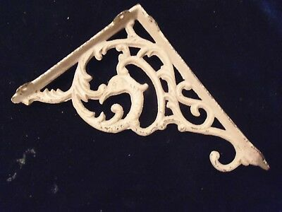 1 Rare Vintage Antique Dolfin Shelf Bracket