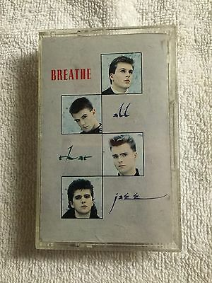 Breathe - All That Jazz - Cassette Tape - 1987 Siren/Virgin Records    #4