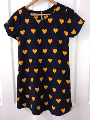 f0af4f64 ZARA HEART PRINT T Shirt Dress With Pockets - $29.99 | PicClick