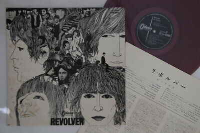 LP BEATLES Revolver OP7600 ODEON JAPAN Vinyl