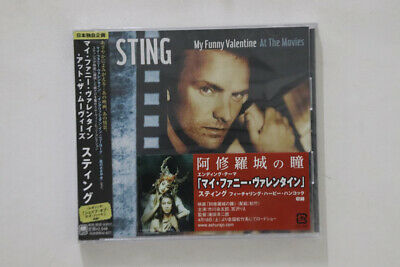 CD STING My Funny Valentine: At The Movies UICA4001 A&M JAPAN OBI PROMO SEALED