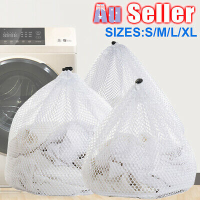 Laundry Mesh Bags Household Drawstring Cleaning Tools Saver U2 Net