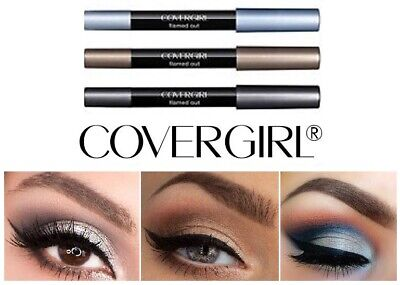 Eyeshadow crayon covergirl flamed out shadow pencil