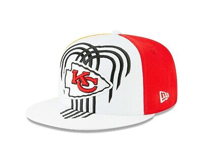 the latest a1f0f c3fcc Kansas City Chiefs New Era 2019 NFL Draft On-Stage Snapback 9Fifty Hat