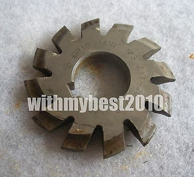 Lot 1pcs Dp16 14-1//2 degree No.2 Dp16 Involute Gear Cutters DP 16 #2 Gear Cutter