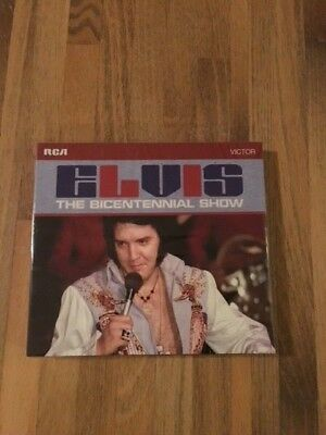 """Elvis Presley FTD 5"""" CD Elvis The Bicentennial Show , New and Sealed, Rare"""