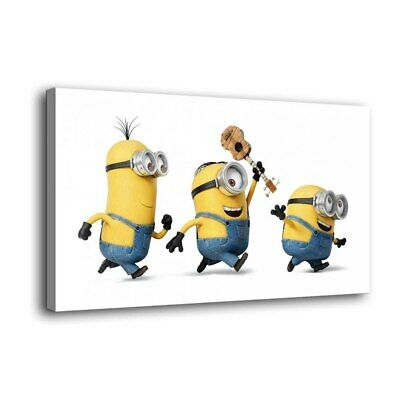 """12""""x22"""" Minions play Paintings HD Print on Canvas Home Decor Wall Art Pictures"""