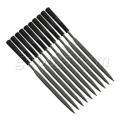 10Pieces Half Round File Needle Carving Craft Kit Model Carving Tool