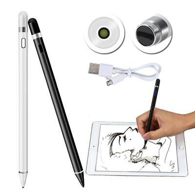 AU✈Stylus Drawing Pen Capacitive Active Touch Screen Rechargeable For iPad
