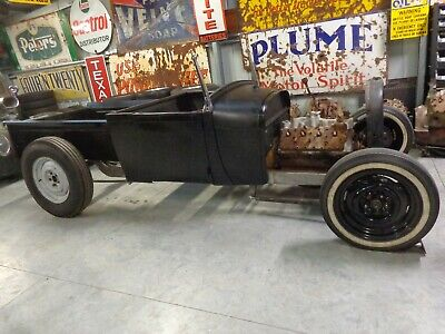 Ford A Model Channelled Roadster Pickup Hot Rod Project Rat Rod Custom