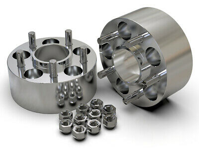 50Mm 5X108 63.4Mm Hubcentric Wheel Spacer Kit Uk Made Range Rover Evoque