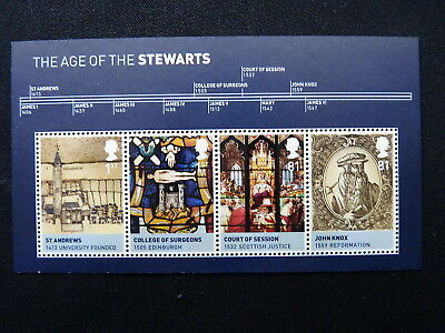 Great Britain. Miniature Sheet. Ms 3053. The Age Of The Stewarts. 2010