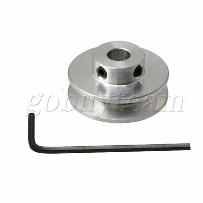 7mm Hole Diameter V-type Step Pulley Wheel Fit with 3-5MM PU Round Belt