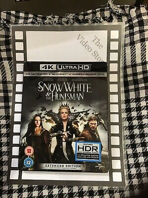 Snow White And The Huntsman (Extended Edition) [4K UHD Blu-ray + Blu-ray + Digit