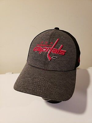 ca65e823f93 Washington Capitals Hockey hat cap Baseball 3- D Embroidered New Era 3930  NHL
