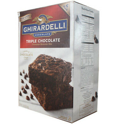 Ghirardelli Triple Chocolate Brownie Mix 3.4 kg