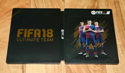 FIFA 18 Ultimate Team EA Sports Xbox One PS4 Steelbook with Sleeve / Motion Card