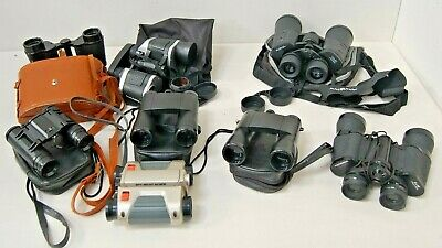 LOT OF 6 Binoculars for parts or repair Bushnell