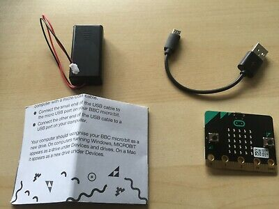 BBC micro bit Starter Kit. New comes with accessories