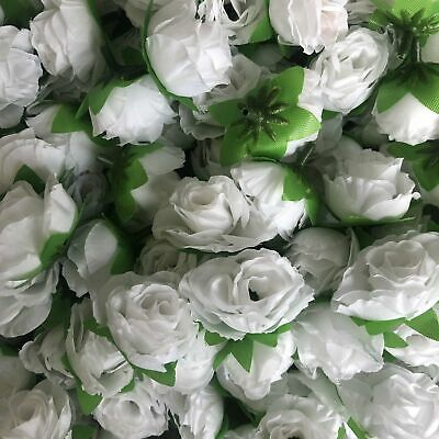 Artifical Silk Flower Heads - Ombre Pink Peony Style 68 - 5 Pack