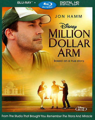 Million Dollar Arm [Blu-ray] Jon Hamm, Aasif Mandvi, Alan Arkin Blu-ray