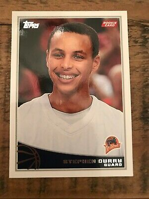 2009 20 Topps Stephen Curry Rc Warriors 850 Picclick