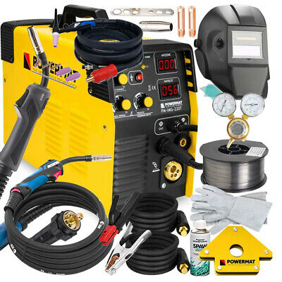 5 In 1 Mig / Mag / Tig / Fcaw / Mma Welder Inverter 220A Machine+ Accesories