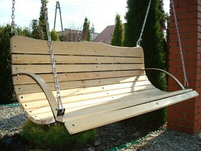 Swing Wood Wooden Garden Outdoor Swing High Quality
