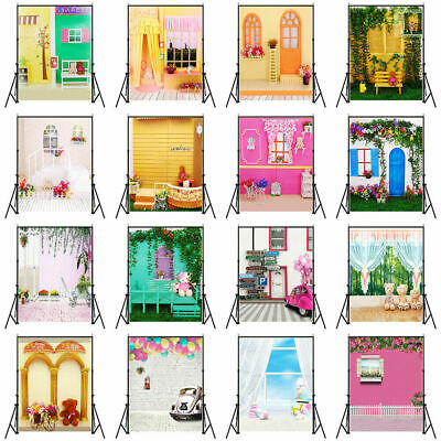 3x5/5x7ft Baby Kid Adult Photography Backdrop Sweet House Photo Background Decor