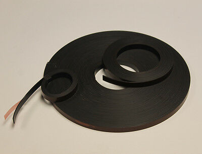 Self-Adhesive Magnetic Tape/Strip/Roll 12.5 x 1.5mm - 5M/10M/20M - Mag A