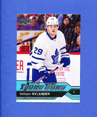 2016 UD HOCKEY YOUNG GUNS WILLIAM NYLANDER maple leafs rookie YG RC