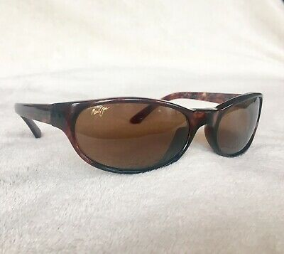 56c872aad67cf Maui Jim Cyclone Sunglasses Tortoise HCL Bronze Polarized Lenses MJ 136-10  Rare