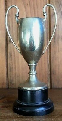 NOT ENGRAVED Vintage silver plate trophy, trophies, loving cup, trophy