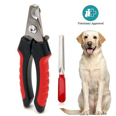 Dog Nail Clippers Cutting Scissors Claw Professional Pet Small Large Grooming