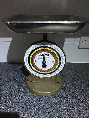 Vintage Salter coin checker scales - Model 53B Fully working Shop Display / Prop