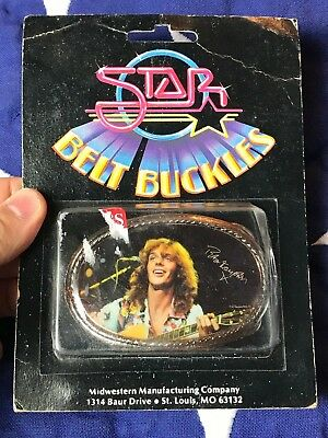 Peter Frampton Band- VINTAGE 70'S BELT BUCKLE / IN BOX Made in USA RARE