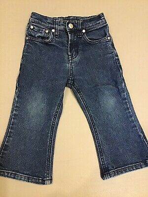 "Boys Gap Blue Jeans, Size 2.  Stretch.  12"" Inseam.   ~Fast Shipping~"