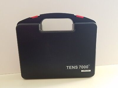 TENS 7000 Manual Case InTENSity Electrodes Accessories Pain Relief Device Unit