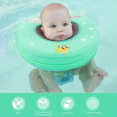a827aa911d Safety Baby Non-inflatable Float Swim Neck Ring Floats Pool Toy Swimming  Trainer