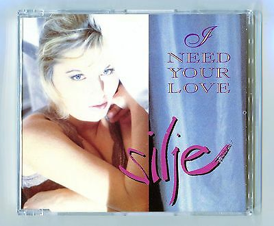 Silje Nergaard - I Need Your Love - Scarce Mint Cd Single