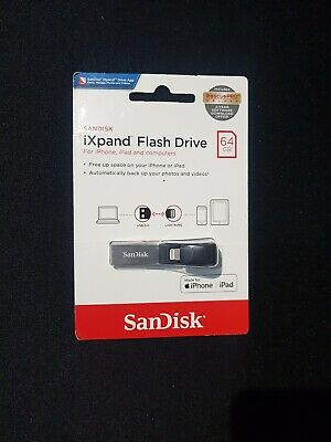 Sandisk iXpand Flash Drive 64GB for iPhone, iPad and PC