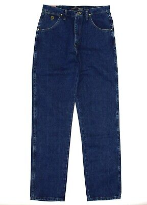 WRANGLER Men's 'GEORGE STRAIGHT' Stonewash COWOY CUT RELAXED FIT JEANS - 32 X 36