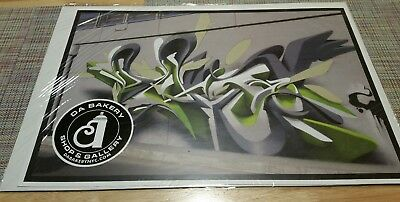 Graffiti Poster New Sealed Rare Peeta / Cope2 Seen Banksy Shepard Graffiti Art